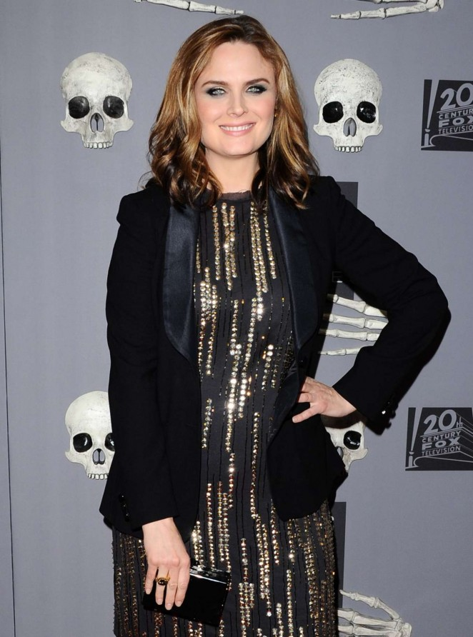 Emily Deschanel - Bones 200th Episode Celebration in West Hollywood