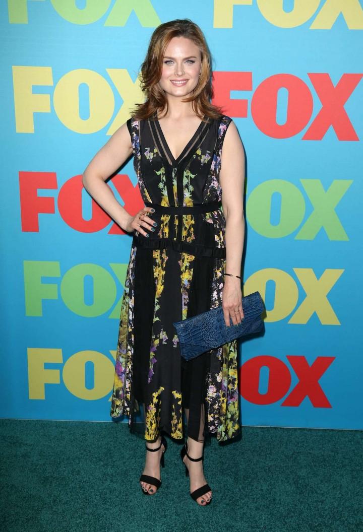 Emily Deschanel fox upfronts 2014