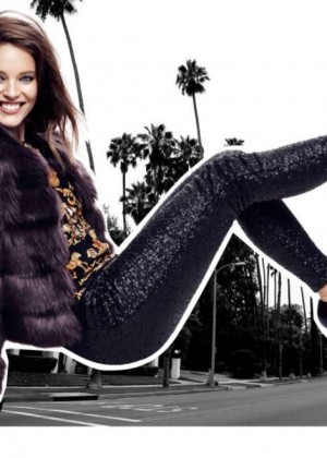 Emily DiDonato - Juicy Couture Holiday 2014 Lookbook