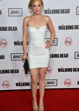 Emily Kinney: The Walking Dead 3rd Season Premiere -01