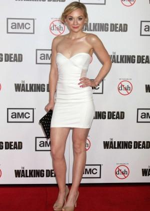 Emily Kinney: The Walking Dead 3rd Season Premiere -02