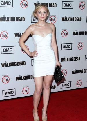 Emily Kinney: The Walking Dead 3rd Season Premiere -03