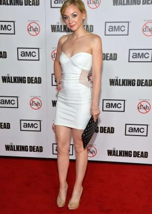 Emily Kinney: The Walking Dead 3rd Season Premiere -05