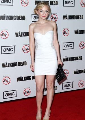 Emily Kinney: The Walking Dead 3rd Season Premiere -06