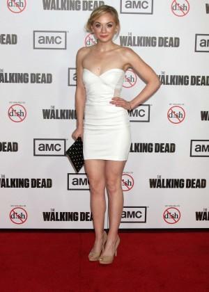 Emily Kinney: The Walking Dead 3rd Season Premiere -07