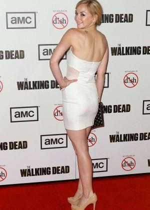 Emily Kinney: The Walking Dead 3rd Season Premiere -10