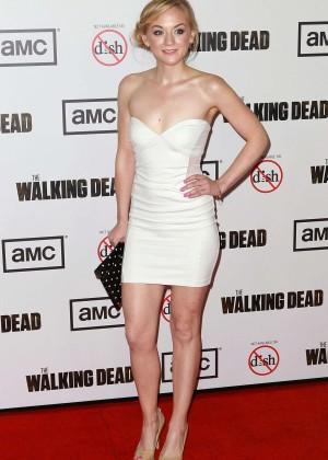 Emily Kinney: The Walking Dead 3rd Season Premiere -12