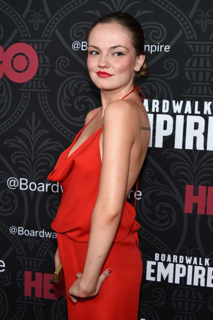 """Emily Meade - """"Boardwalk Empire"""" Season 5 Premiere in NYC"""