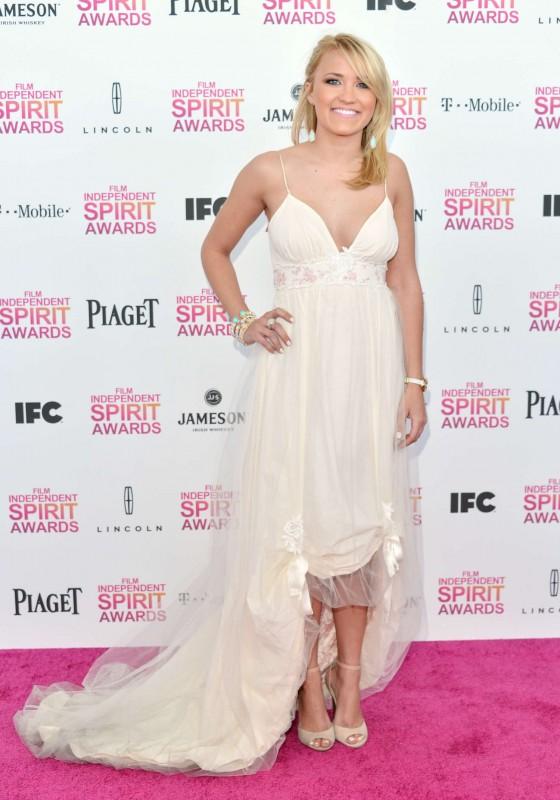 Emily Osment – 2013 Film Independent Spirit Awards -01