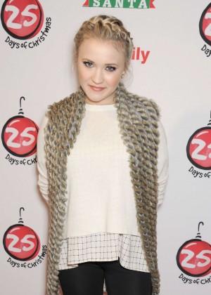 Emily Osment - ABC's 25 Days Of Christmas Celebration in NY