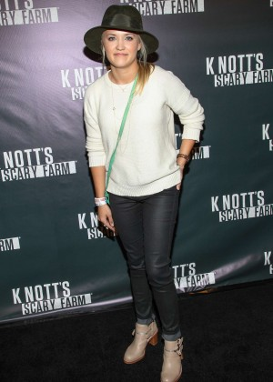 Emily Osment - Knott's Scary Farm Opening Night in Buena Park