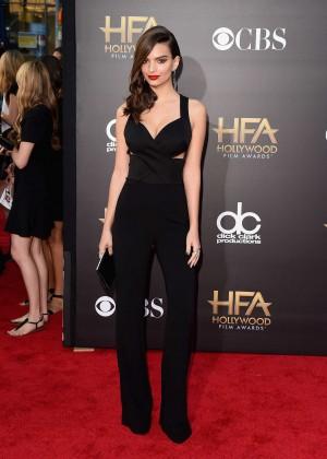 Emily Ratajkowski: 2014 Hollywood Film Awards -01