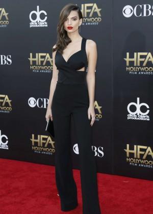 Emily Ratajkowski: 2014 Hollywood Film Awards -02