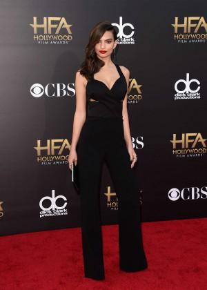 Emily Ratajkowski: 2014 Hollywood Film Awards -05
