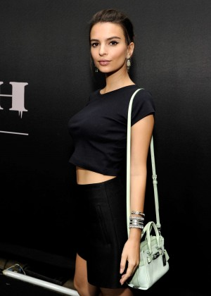 Emily Ratajkowski - Coach Rodeo Drive Store Cocktail in Beverly Hills