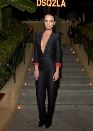 Emily Ratajkowski - Dsquared2 Celebrates First Boutique in the USA in LA