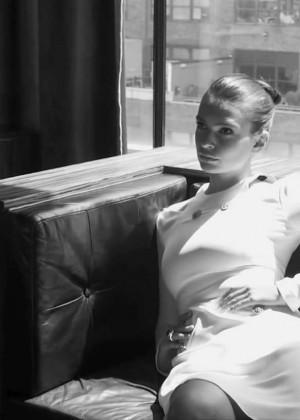 Emily Ratajkowski - Ocean Drive 2014 (Behind the Scenes)
