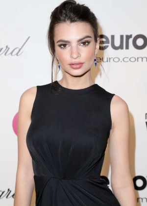 Emily Ratajkowski: Oscars 2014 - Vanity Fair Party -03