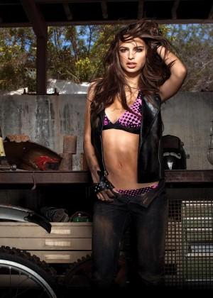 Emily Ratajkowski: The Fox Bikini Photoshoot -01