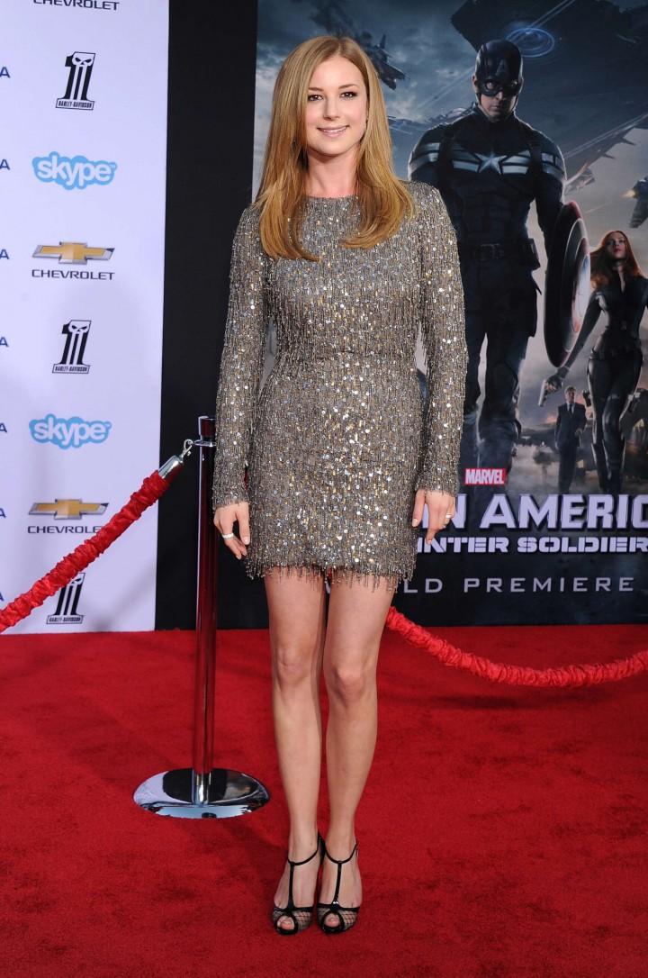 Emily VanCamp - Captain America: The Winter Soldier Premiere -03