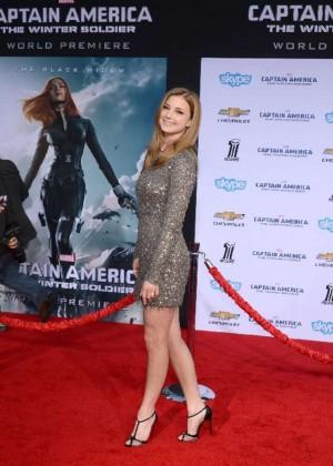 Emily VanCamp - Captain America: The Winter Soldier Premiere -05