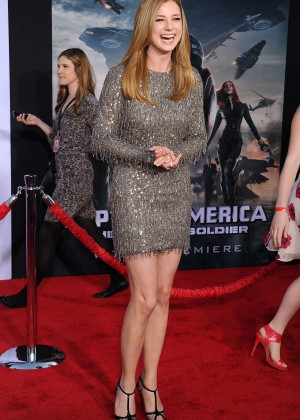 Emily VanCamp - Captain America: The Winter Soldier Premiere -06