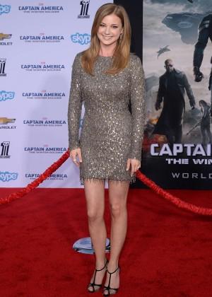 Emily VanCamp - Captain America: The Winter Soldier Premiere -07