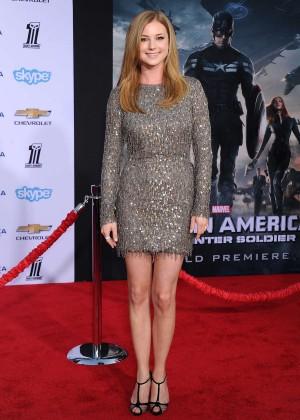 Emily VanCamp - Captain America: The Winter Soldier Premiere -08