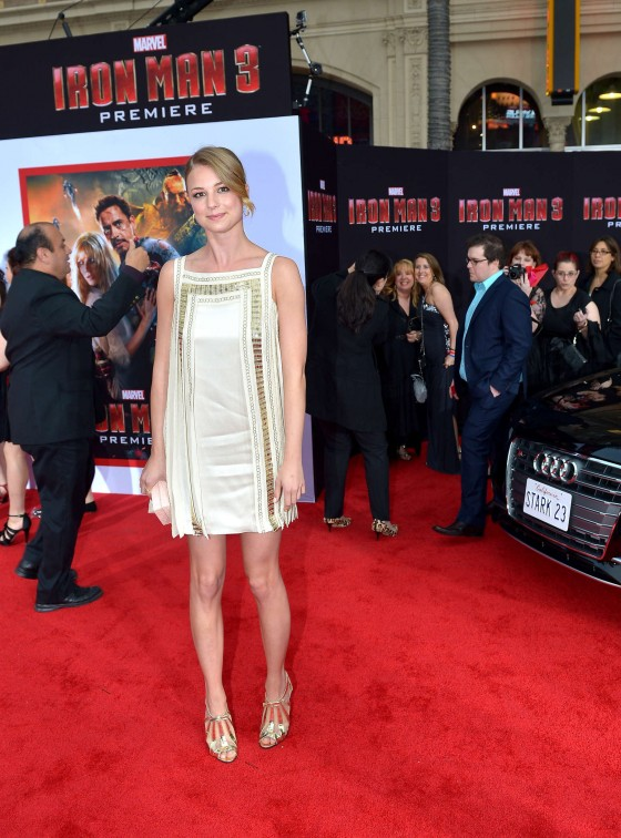 Emily VanCamp – Iron Man 3 premiere -21
