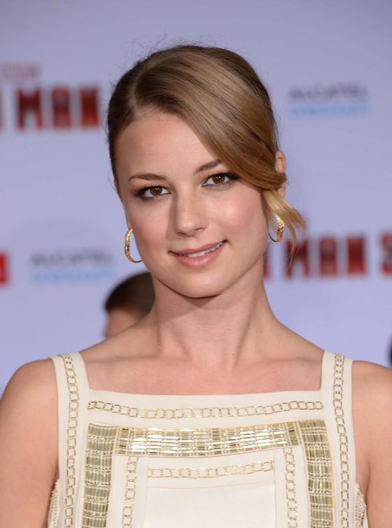 Emily VanCamp – Iron Man 3 premiere -22