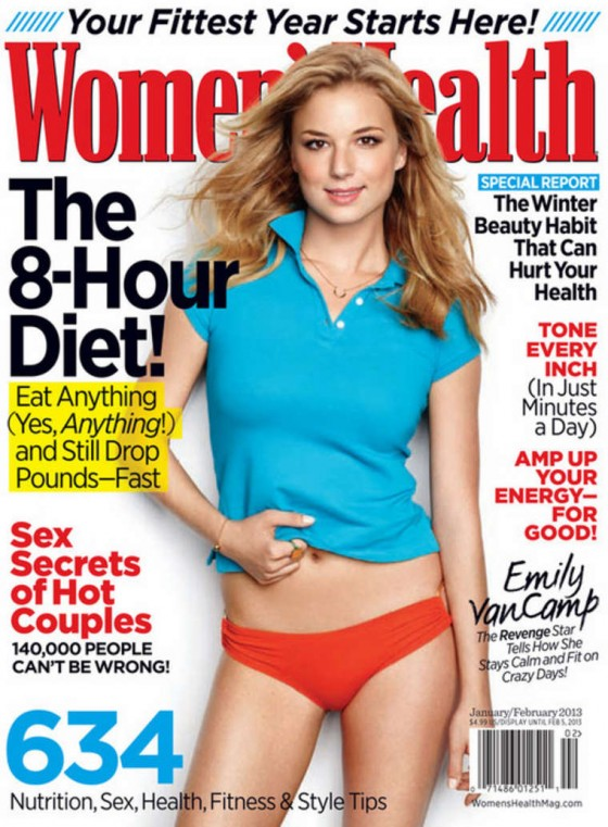 Emily VanCamp - Woman's Health January 2013