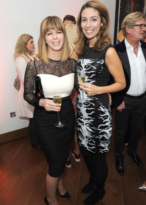 Emma Crosby & Kate Garraway - Professor Jonathan Shalit's OBE Party in London