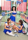 Emma Glover - Rosie Jones and India Reynolds - Cheerleaders - American Pie Photoshoot-23