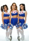 Emma Glover, Rosie Jones and India Reynolds - Nuts - Cheerleaders - American Pie Photoshoot
