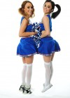 Emma Glover - Rosie Jones and India Reynolds - Cheerleaders - American Pie Photoshoot-32