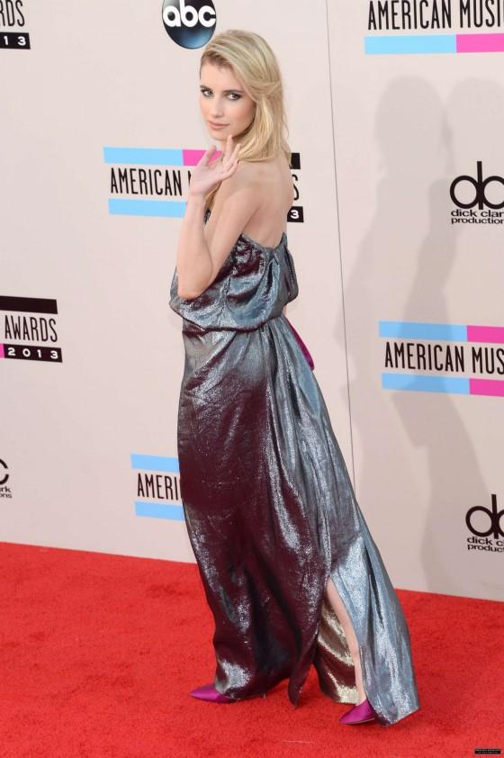 Emma Roberts: 2013 American Music Awards -03