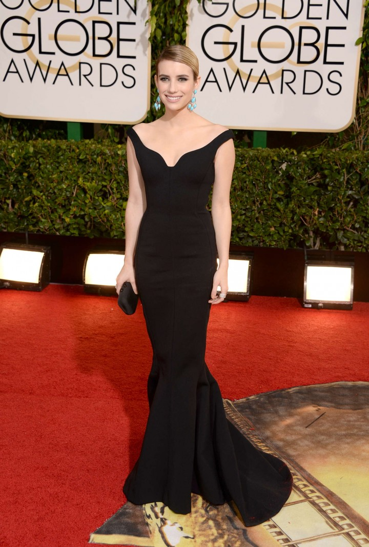 Emma Roberts: Golden Globe 2014 Awards -05