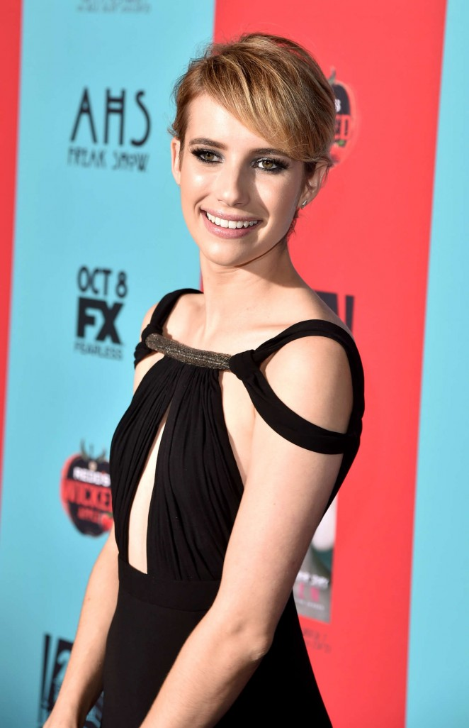 Emma Roberts - American Horror Story Freak Show Premiere in Hollywood