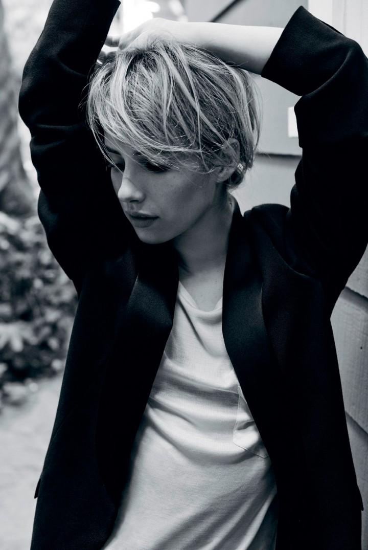 Emma Roberts - i-D Magazine (August 2014)