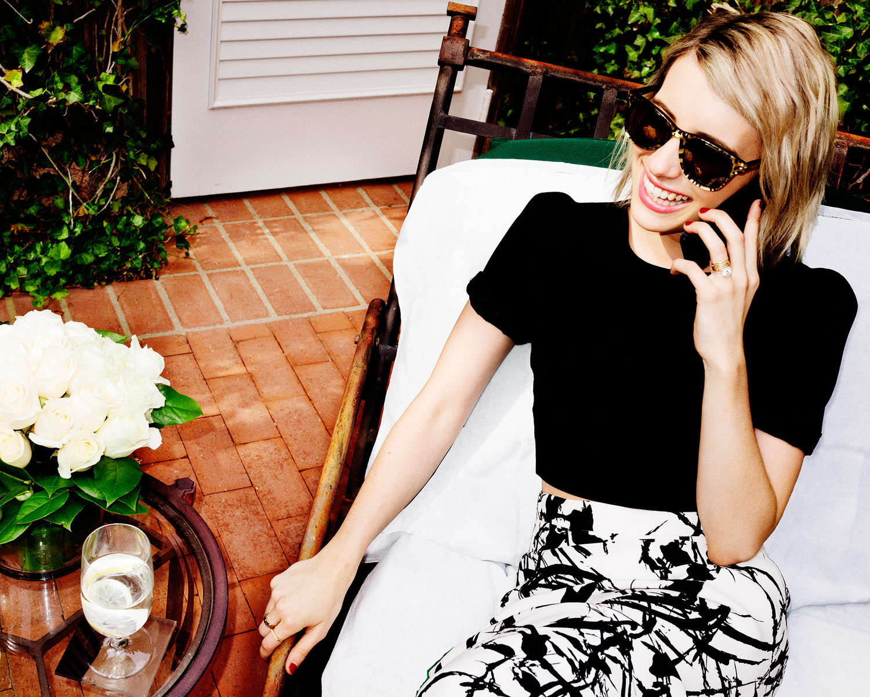 Emma Roberts 2014 : Emma Roberts by Jimmy Choo 2014 Campaign -05