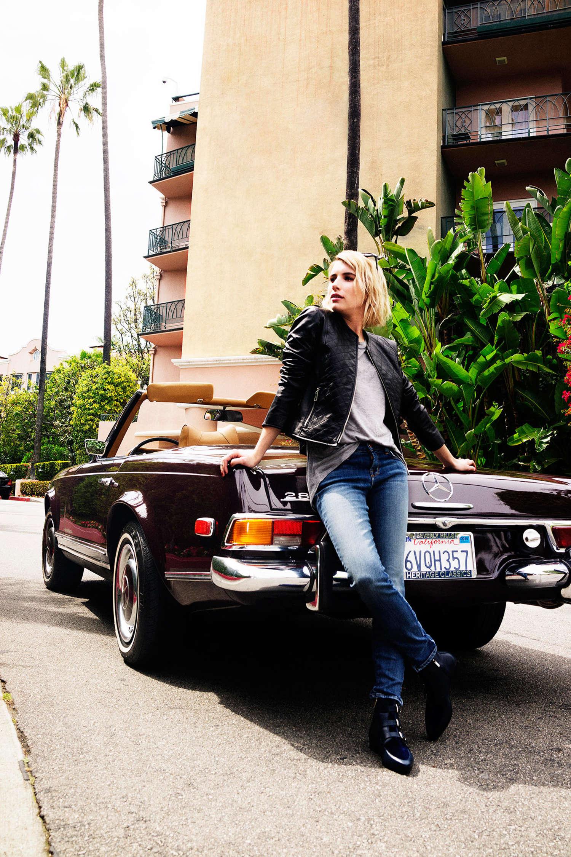 Emma Roberts 2014 : Emma Roberts by Jimmy Choo 2014 Campaign -06