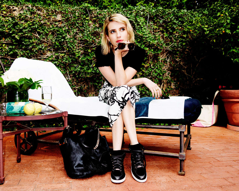 Emma Roberts 2014 : Emma Roberts by Jimmy Choo 2014 Campaign -07