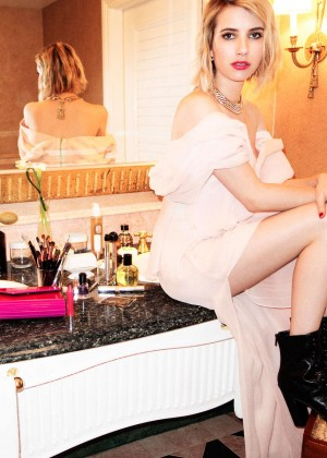 Emma Roberts by Jimmy Choo Photoshoot 2014 Campaign