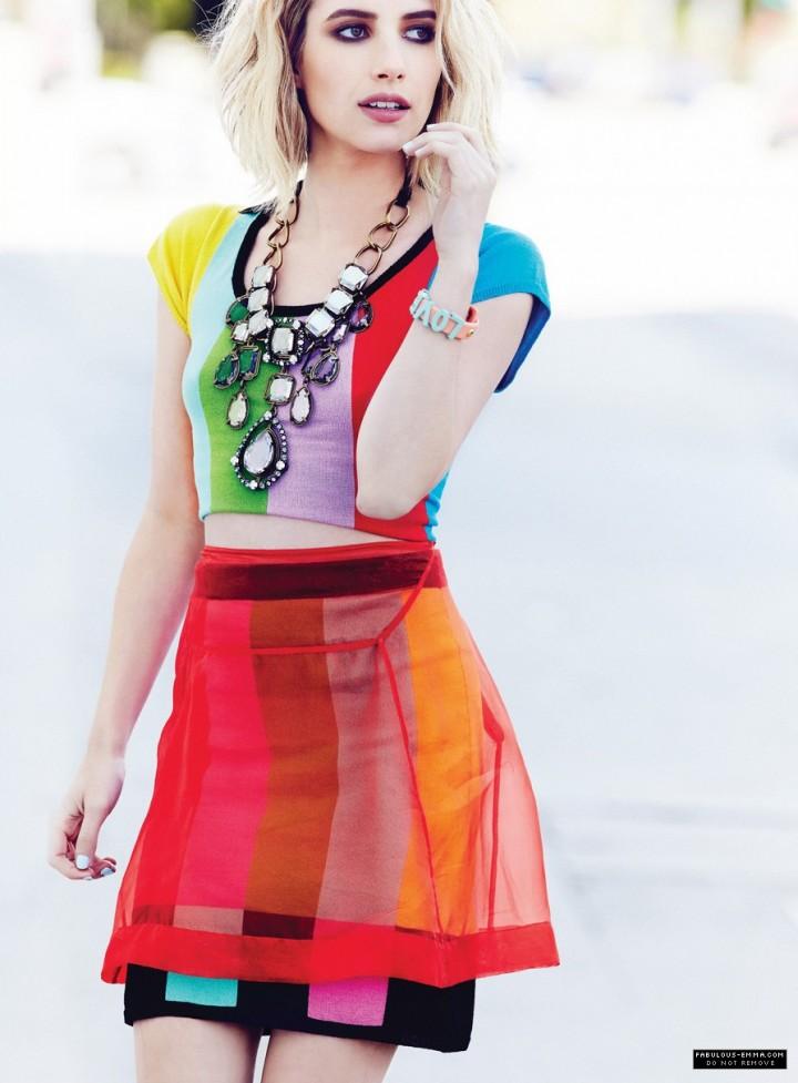 Emma Roberts: Max Abadian Photoshoot 2014 -05