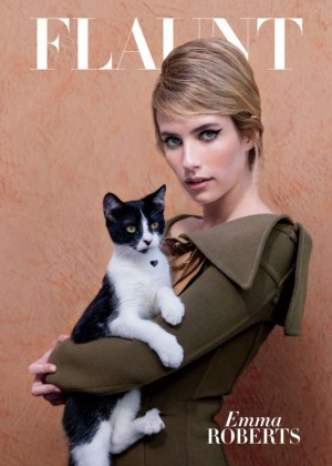 Emma Roberts - Flaunt Magazine Cover Nine Lives Issue 2014