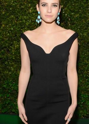 Emma Roberts: Golden Globe 2014 Awards -02