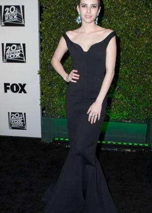 Emma Roberts: Golden Globe 2014 Awards -03