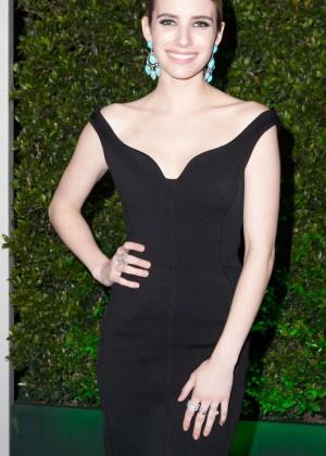 Emma Roberts: Golden Globe 2014 Awards -04