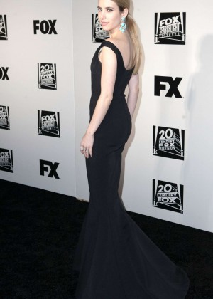 Emma Roberts: Golden Globe 2014 Awards -06