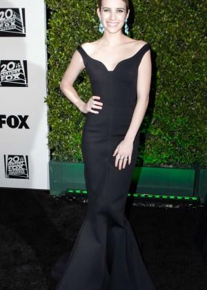 Emma Roberts: Golden Globe 2014 Awards -07